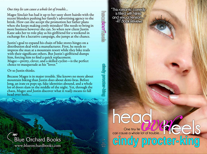 Full Trade Paperback Cover of HEAD OVER HEELS