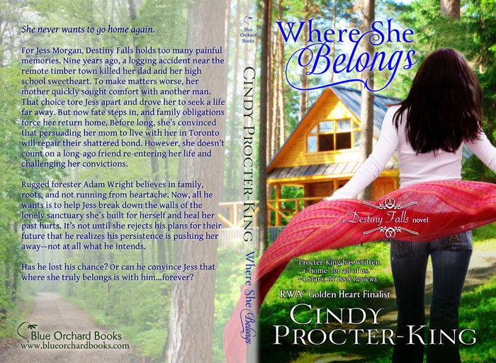 Where She Belongs Trade Paperback Cover Flat
