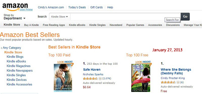 Blew my mind! NUMBER ONE IN THE ENTIRE KINDLE FREE STORE!!