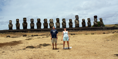 We are worshiping the sun, or being the Moai, or something that no longer makes sense.