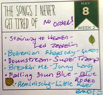 Listify_Songs
